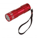 wholesale Flashlights: LED torch Powerful color red