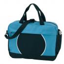 groothandel Overige tassen: Document bag  Pi   kleur zwart, lichtblauw