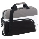 Laptop bag   Narvik  black, white, gray