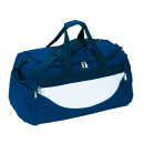 Großhandel Reise- und Sporttaschen: Sporttasche CHAMP, dunkelblau, weiß