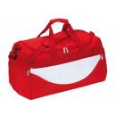 Großhandel Reise- und Sporttaschen: Sporttasche CHAMP, rot, weiß