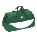 wholesale Travel and Sports Bags: Sports bag Champ color green, white