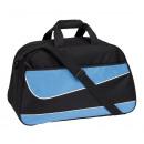 Großhandel Reise- und Sporttaschen: Sporttasche PEP, schwarz, blau