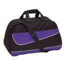 Großhandel Taschen: Sporttasche PEP, schwarz, lila