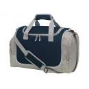 Großhandel Reise- und Sporttaschen: Sporttasche GYM, grau, schwarz