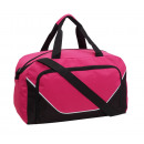 Großhandel Taschen: Sporttasche JORDAN, schwarz, pink