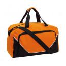 Großhandel Reise- und Sporttaschen: Sporttasche JORDAN, schwarz, orange