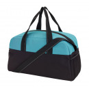 wholesale Bags: Sports bag Fitness color black, turquoise