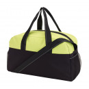 wholesale Bags: Sports bag Fitness color black, light green