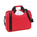 wholesale Miscellaneous Bags: Document bag Busy color red