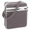 wholesale Handbags: Shoulder bag Vintage color gray beige,