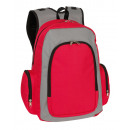 wholesale Backpacks: Backpack Urban color gray, red