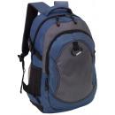 groothandel Rugzakken: Rugzak   high-class  kleur blauw, grijs