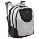 wholesale Backpacks: Backpack deluxe Color silver, black