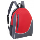 wholesale Backpacks: Backpack  pop  color gray, red