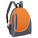 wholesale Backpacks: Backpack  pop  color gray orange,