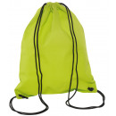 groothandel Schoolartikelen: Gym Bags Downtown kleur lichtgroen