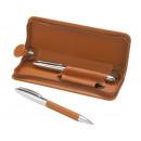 grossiste Stylos et crayons: jeu d'écriture  Vici  couleur brune