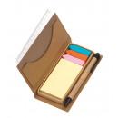 grossiste Stylos et crayons: Memobox  Stick it  couleur brune
