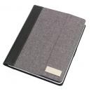 wholesale Notebooks & Tablets: Tablet- Portfolio Linen color gray, black