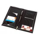 mayorista Clasificadores y carpetas: Pasaporte y el billete HALMSTAD billetera de color