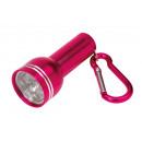 Großhandel Taschenlampen: Mini-Taschenlampe CARA, magenta