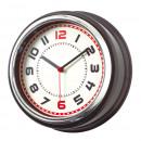 Großhandel Uhren & Wecker: Wanduhr COUNTRY, schwarz, silber