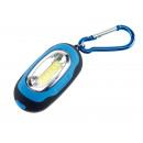 mayorista Lamparas de bolsillo: LED m de luz. Mosquetón CORONA, azul