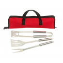 wholesale Garden & DIY store: 3pc. BBQ Set in Bag  Smoky