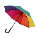 Großhandel Regenschirme:-Windproof Stockschirm WIND, regenbogen