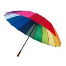 groothandel Paraplu's: Golf Umbrella  regenbooghemel regenboog,