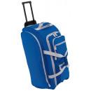 Großhandel Koffer & Trolleys:-Trolley Reisetasche 9P, blau, grau