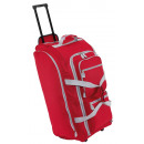 wholesale Suitcases & Trolleys: Trolley travel bag 9P, red, gray