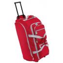 groothandel Reis- & sporttassen: Trolley reistas 9P, rood, grijs