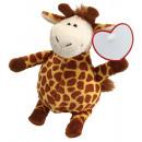 Großhandel Puppen & Plüsch: Plüsch-Giraffe RAFFI, braun