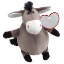wholesale Dolls &Plush:Plush Donkey GORDO, gray