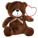 wholesale Dolls &Plush:Plush Bear RUBEN, brown