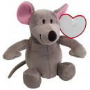 wholesale Dolls &Plush:Plush mouse JOSEPH, gray