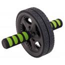 Großhandel Sport- und Fitnessgeräte: Bauchmuskeltrainer  FIT WHEEL, schwarz, grün