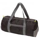 Großhandel Einkaufstaschen: Sporttasche VOLUNTEER, faltbar, schwarz