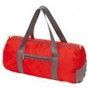 Großhandel Taschen & Reiseartikel: Sporttasche  VOLUNTEER, faltbar, rot