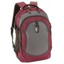 Großhandel Rucksäcke: Rucksack HIGH-CLASS, burgund, grau