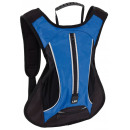 Großhandel Reise- und Sporttaschen: Sport-Rucksack LED RUN, blau, schwarz