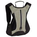 Großhandel Reise- und Sporttaschen: Sport-Rucksack LED RUN, grau, schwarz