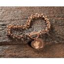 groothandel Sieraden & horloges: LARA roestvrij  stalen armband rosé goud