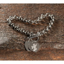 wholesale Jewelry & Watches: LARA stainless steel bracelet polished steel