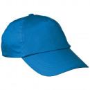 groothandel Licentie artikelen: Sandwich baseball cap 6 panelen, blue