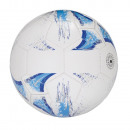 wholesale Balls & Rackets: Football KICK AROUND, white / blue