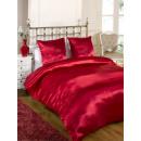 Großhandel Bettwäsche & Matratzen: Französisch Größe  140 cm Bett satin Putz