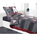 Großhandel Bettwäsche & Matratzen: Deckbettenbezüge -  140 x 200 cm + Kissenbezug - Mi